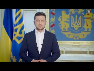 Вбудована мініатюра для Коронавірус, виплати лікарям і місцеві вибори: звернення Президента України до громадян
